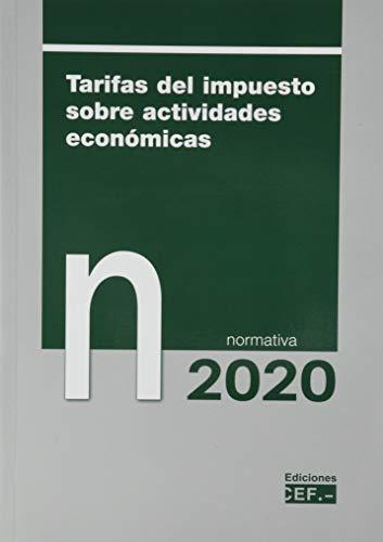 Tarifas Del Impuesto Sobre actividades económicas. Normativa