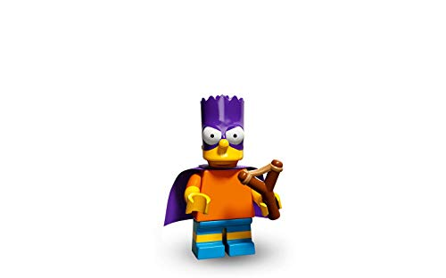 LEGO Minifiguras Coleccionables: Bart as Bartman Minifigura (La Simpsons Serie 2)