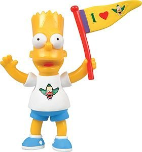 Simpsons Krusty Studios Bart Simpson Figure by Simpsons