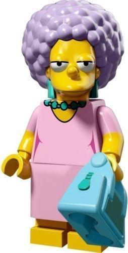 LEGO Minifiguras Coleccionables: Patty Bouvier Minifigura (La Simpsons Serie 2)
