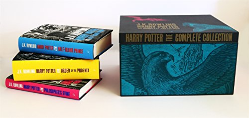 H P Adult Hardback Box Set: Contains: Philosopher's Stone / Chamber of Secrets / Prisoner of Azkaban / Goblet of Fire / Order of the Phoenix / Half-Blood Prince / Deathly Hollows (Harry Potter)