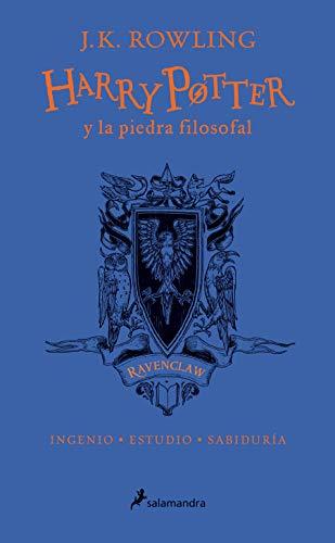 HP y la piedra filosofal-20 aniv-Ravenclaw: Ingenio · Estudio · Sabiduría: 1 (Harry Potter)