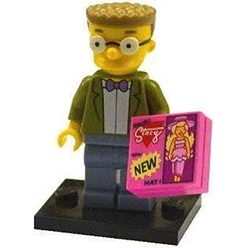 LEGO Minifiguras Coleccionables: Waylon Smithers Jr Minifigura (La Simpsons Serie 2)