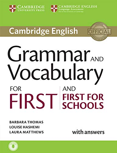 Grammar and Vocabulary for First and First for Schools. Book with Answers and Audio.