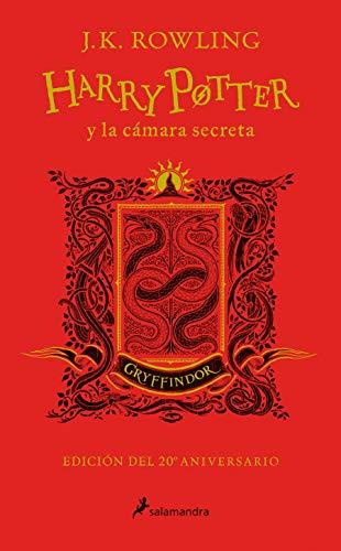 Harry Potter y la cámara secreta (edición Gryffindor del 20º aniversario) (Harry Potter 2): Rojo
