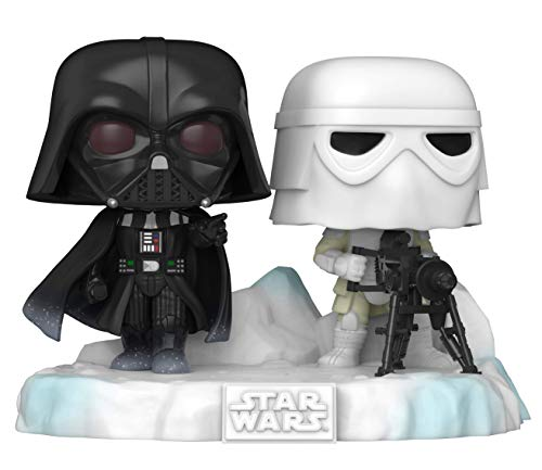 Funko Pop! Deluxe: Star Wars Battle at Echo Base Series - Darth Vader and Snowtrooper Exclusive Edition