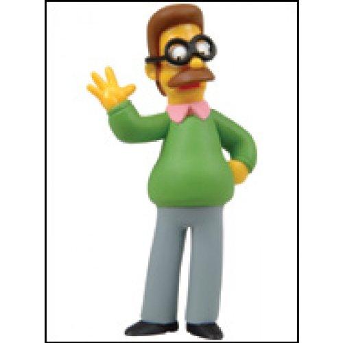 Simpsons Figurines Series 1 Evergreen terrace - Ned Flanders