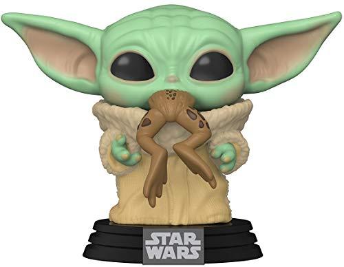 Funko- Pop Star Wars:The Mandalorian-The Child w/Frog Figura Coleccionable, Multicolor (49932)