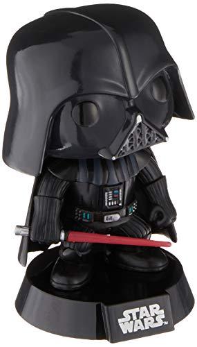 Funko Darth Vader Figura de Vinilo, colección de Pop, seria Star Wars, Color Negro, Rojo (2300)
