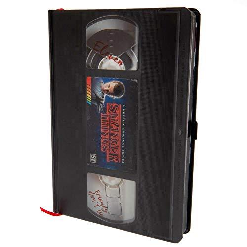 Cuaderno de notas A5Premium–Stranger Things (VHS)