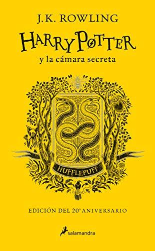 Harry Potter y la cámara secreta (edición Hufflepuff del 20º aniversario) (Harry Potter 2): Amarillo