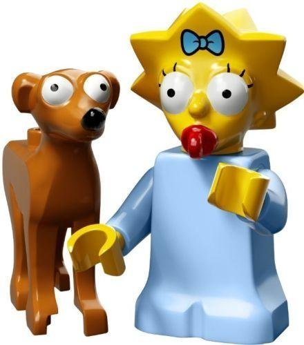 Lego - Simpsons Serie 2 71009 - Maggie with Santa's Little Helper