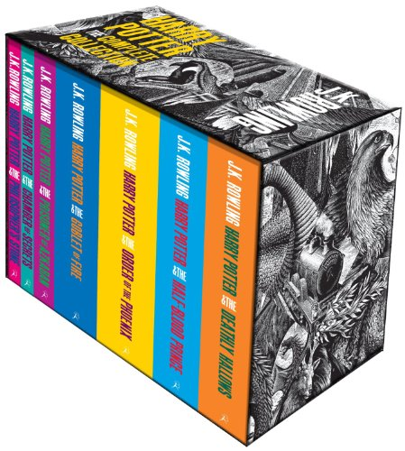 J K Rowling Harry Potter Boxed Set The Complete 7 Books Collection