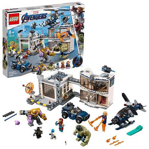 Lego: Batalla en el Complejo de los Vengadores
