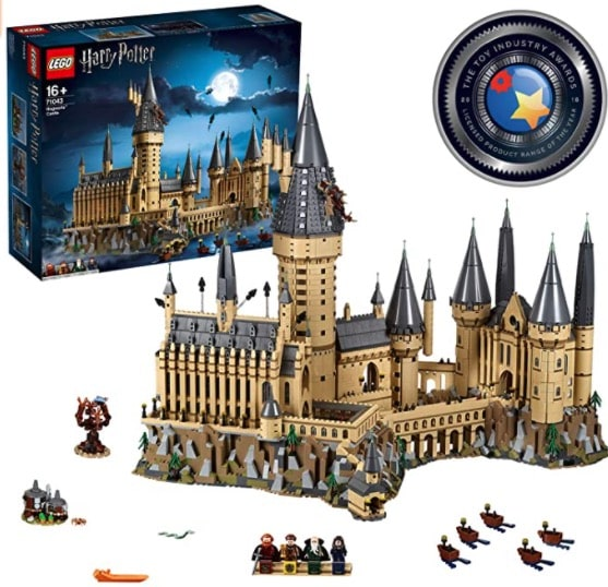 castillo hogwarts lego harry potter