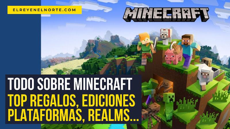 Minecraft regalos