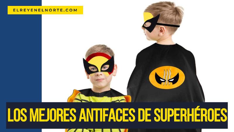 mejores antifaces de superheroes