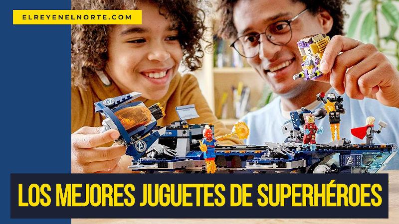 mejores juguetes de superheroes